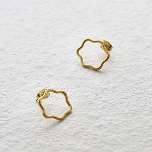 Madewell Wobbly Circle Earrings